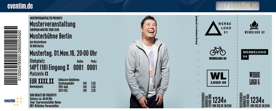 Karten für Sascha Korf: Wer zuerst lacht, lacht am längsten in Dortmund