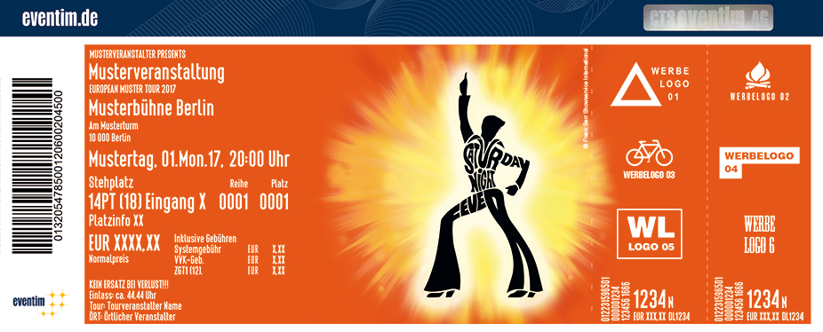 Karten für Saturday Night Fever - Das Musical in Husum
