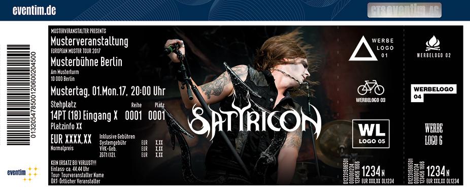 Karten für Satyricon in Wien