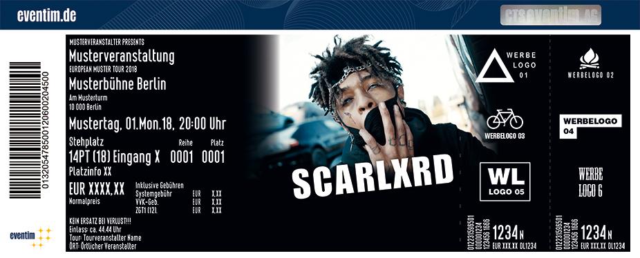 Karten für SCARLXRD in Hamburg