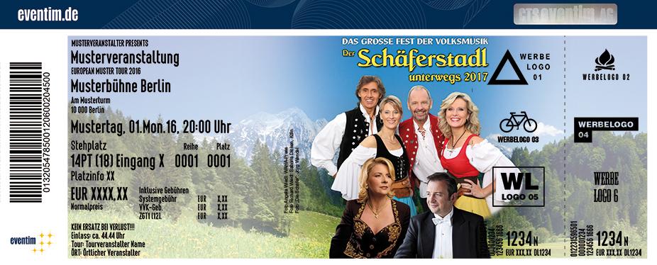 Die Schäfer Karten für ihre Events 2017