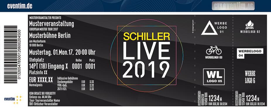 Schiller Karten für ihre Events 2018