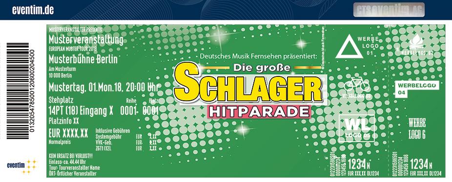 Karten für Die große Schlager Hitparade 2018/2019 in Cottbus
