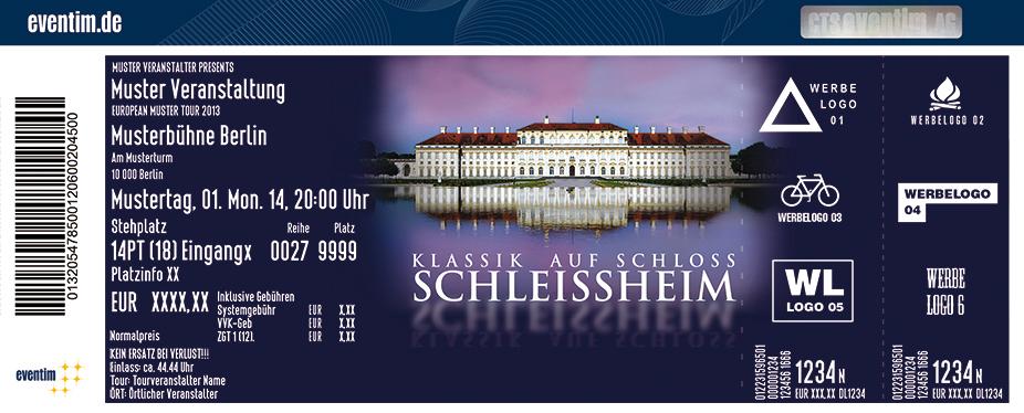 Karten für Spanische Nacht | Klassik auf Schloss Schleißheim in Oberschleissheim