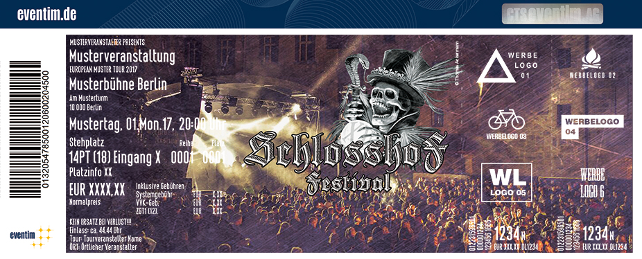 Schlosshof Festival Karten für ihre Events 2017