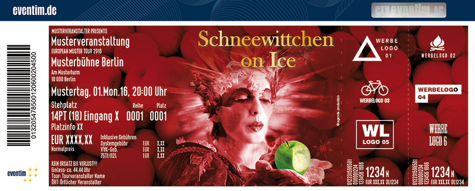 Karten für Russian Circus on Ice: Schneewittchen on Ice in Essen