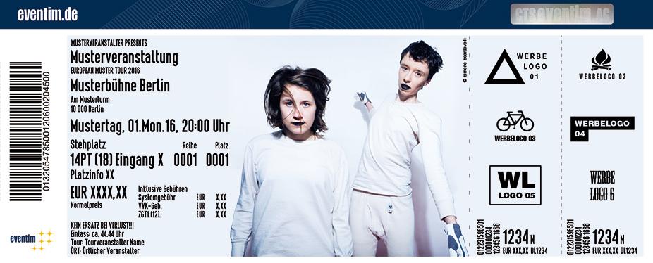 Karten für Schnipo Schranke - Live 2017 in Ludwigshafen Am Rhein