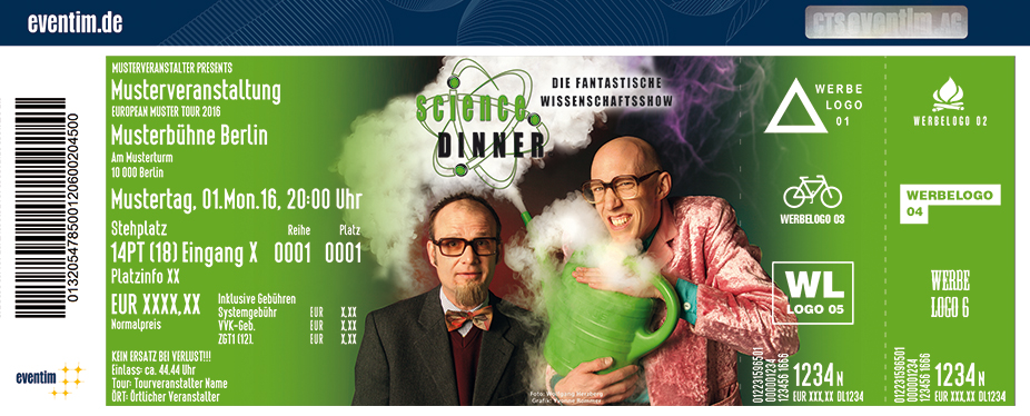 Karten für Science Dinner präsentiert von WORLD of DINNER in Eisenach