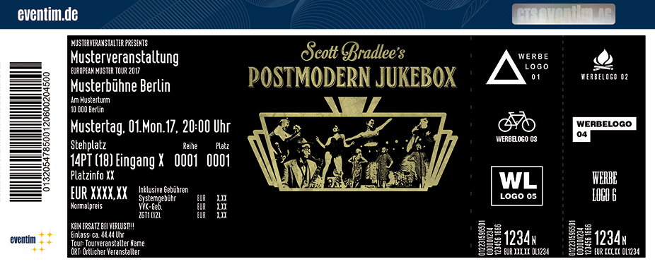 Karten für Scott Bradlee's Postmodern Jukebox - 2018 in Dortmund