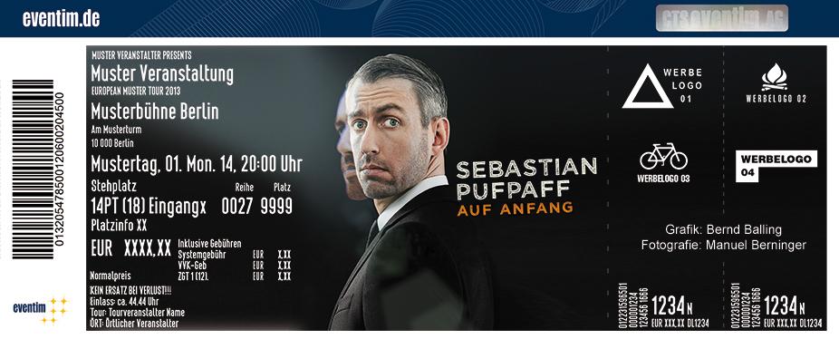 Karten für Sebastian Pufpaff: Auf Anfang in Hanau