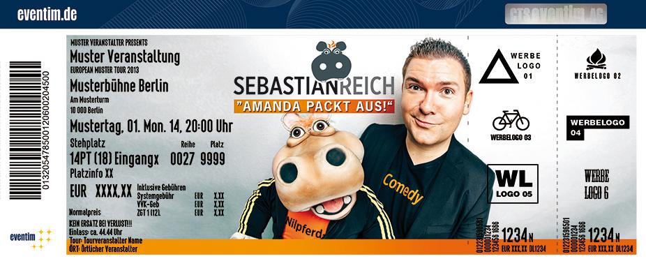Karten für Sebastian Reich & Amanda: Amanda packt aus! in Ravensburg