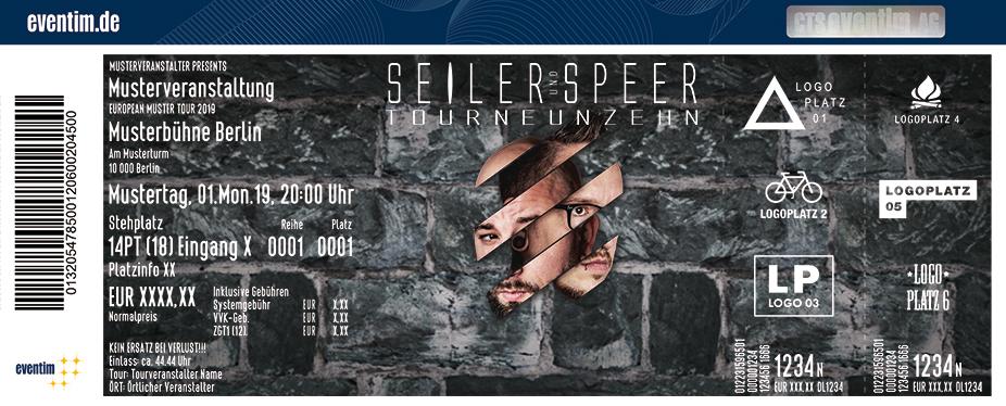 Seiler und Speer - TourNeunzehn