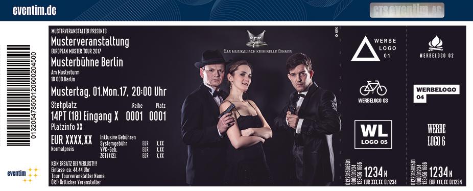 Karten für Silencio - SEK – Das musikalisch kriminelle Dinner in Bamberg