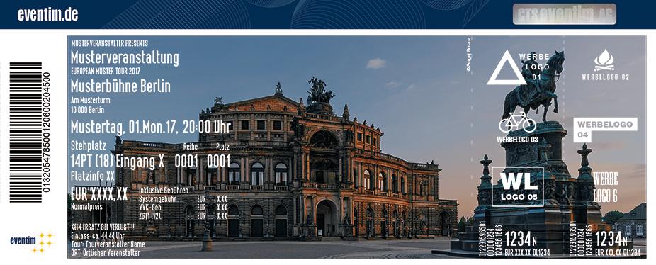 Karten für Führung durch die Semperoper Dresden in Dresden