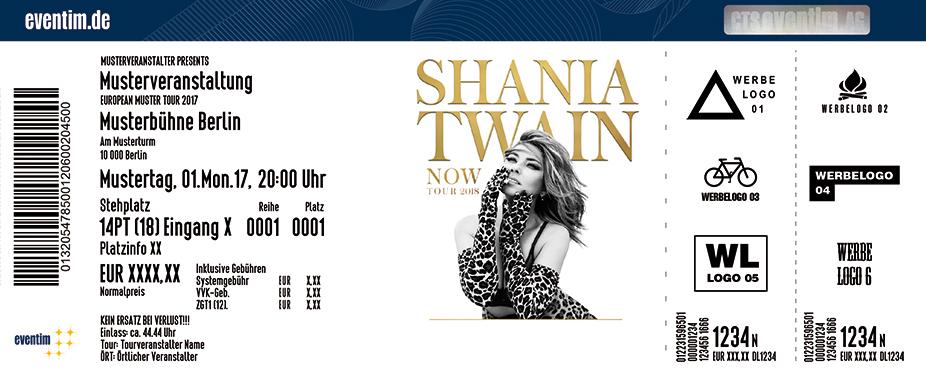 Karten für Shania Twain in Köln