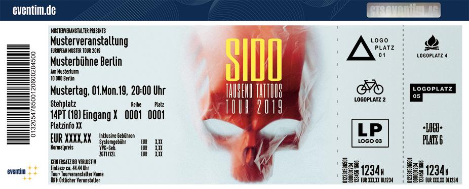 Sido - Tausend Tattoos Tour 2019