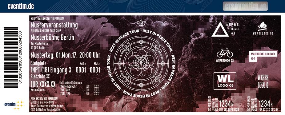 Karten für Sierra Kidd: Rest In Peace Tour in München