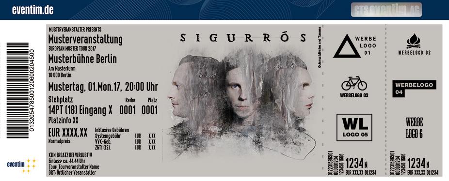 Sigur Rós Karten für ihre Events 2017