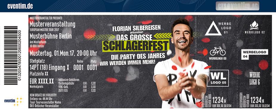 Karten für Florian Silbereisen präsentiert: DAS GROSSE SCHLAGERFEST - Die Party des Jahres 2018 in Mannheim