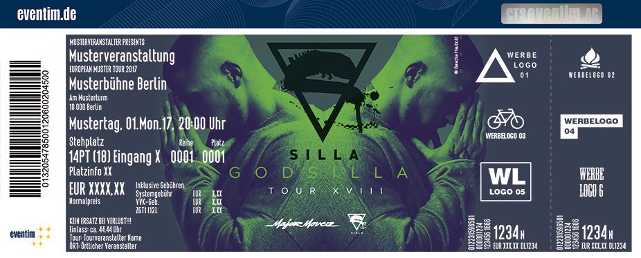 Silla Karten für ihre Events 2017