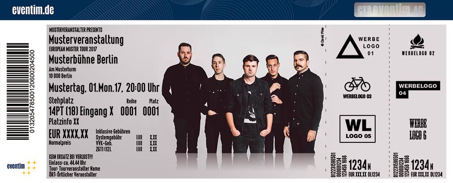 Karten für Silverstein: For Fans Tour 2017 in München