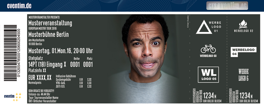Karten für Simon Pearce: Allein unter Schwarzen in Dortmund