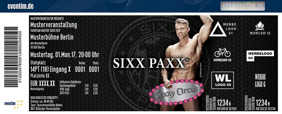 Karten für SixxPaxx: Sexxy Circus in Essen