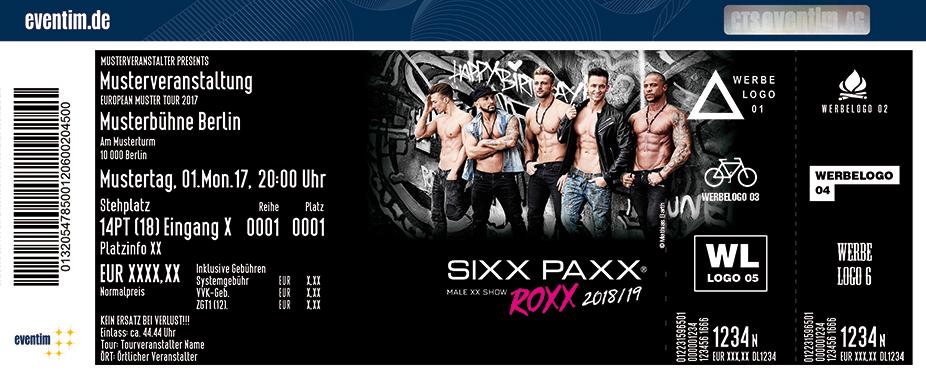 Karten für Sixx Paxx: Roxx Tour in Cottbus