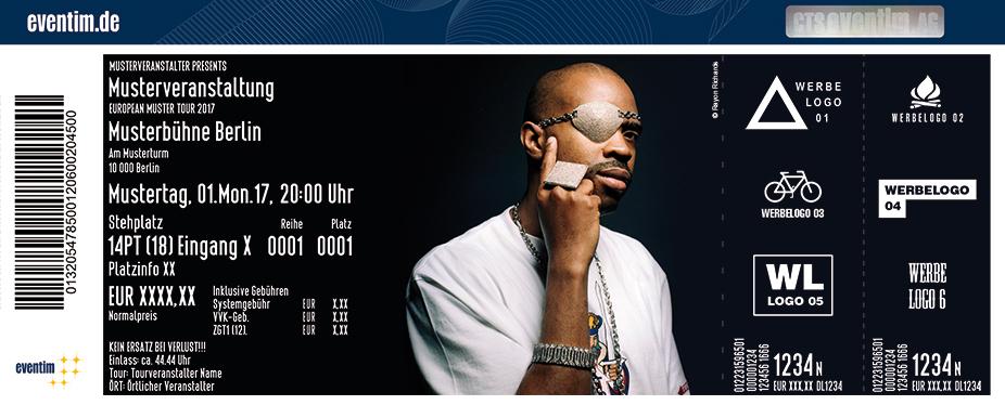 Karten für Slick Rick in Hamburg
