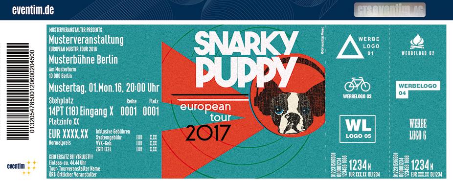 Snarky Puppy Karten für ihre Events 2017