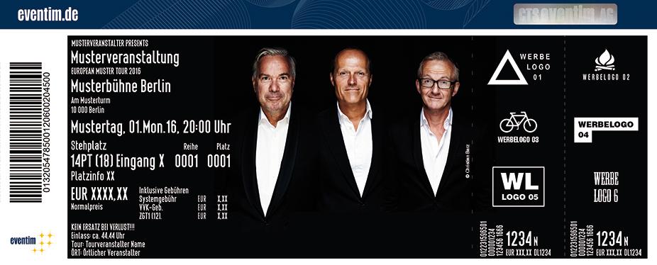 Söhne Hamburgs - Wendt, Gwildis Und Claussen Karten für ihre Events 2017