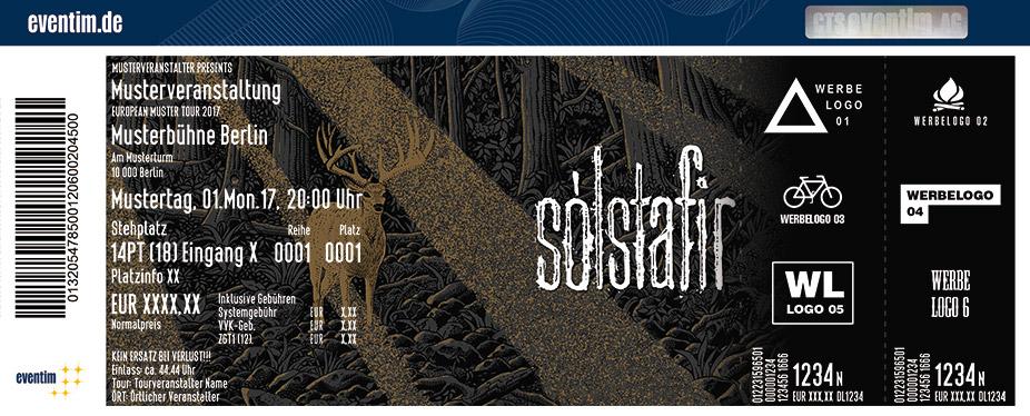 Solstafir Karten für ihre Events 2017