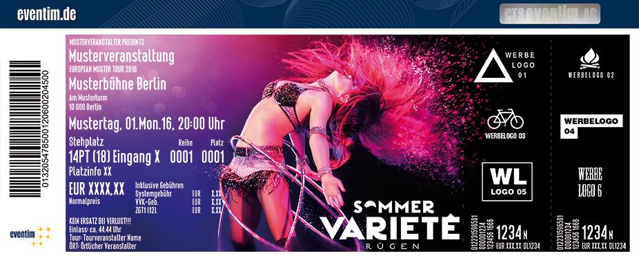 Karten für Sommervarieté Rügen in Ostseebad Binz Auf Rügen
