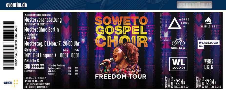Soweto Gospel Choir Karten für ihre Events 2018
