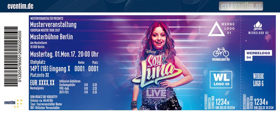Karten für Soy Luna live - Die Show eurer Lieblingsserie im Disney Channel in Wien