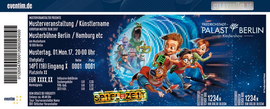 Karten für Friedrichstadt-Palast | Spiel mit der Zeit - Kindershow in Berlin