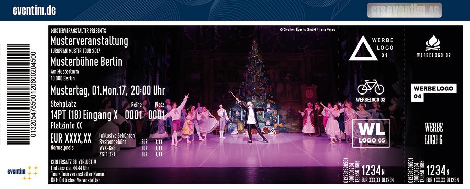 Karten für Nussknacker - St. Petersburg Festival Ballett in Bad Homburg V. D. Höhe