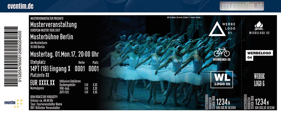 Karten für Schwanensee - St. Petersburg Festival Ballet in Düsseldorf