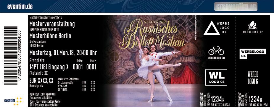 Staatliches Russisches Ballett Moskau Karten für ihre Events 2018