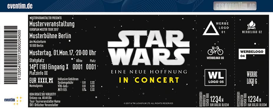 Karten für STAR WARS in Concert: Eine neue Hoffnung in Hamburg