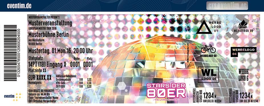 Karten für Stars der 80er in Dresden