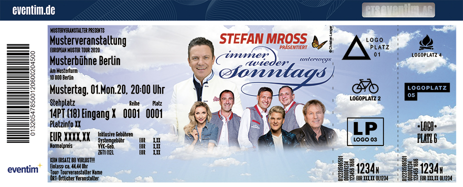 Immer wieder Sonntags präsentiert von Stefan Mross & Stargästen - Frühjahr 2020