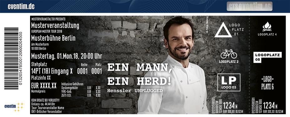 Tickets Für Steffen Henssler In Stuttgart Am 071219 Wagenhallen