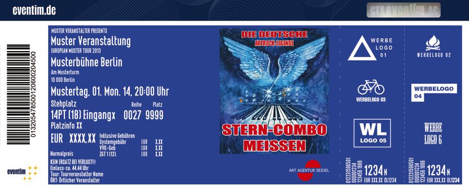 Stern Combo Meissen Karten für ihre Events 2017