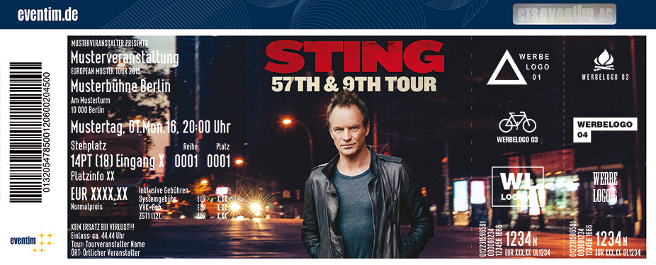Karten für Sting: 57th & 9th Tour in Rankweil