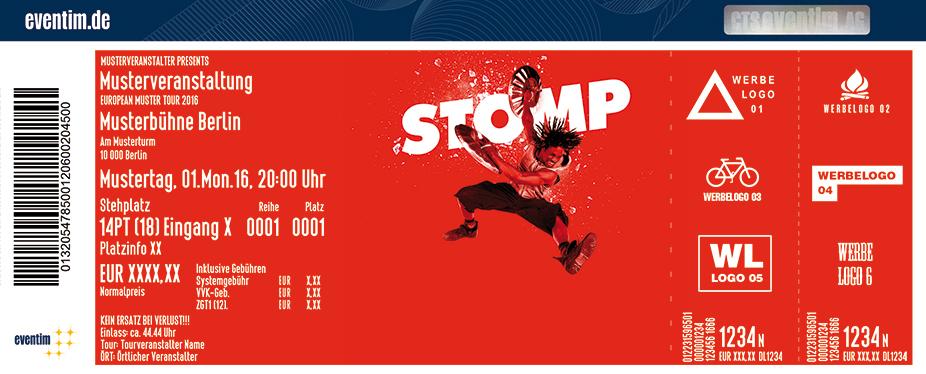 Karten für Stomp in Zürich