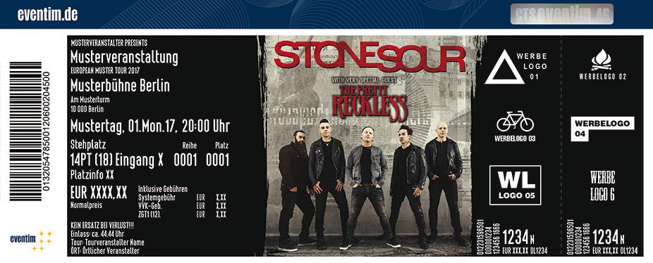 Karten für Stone Sour in Hamburg