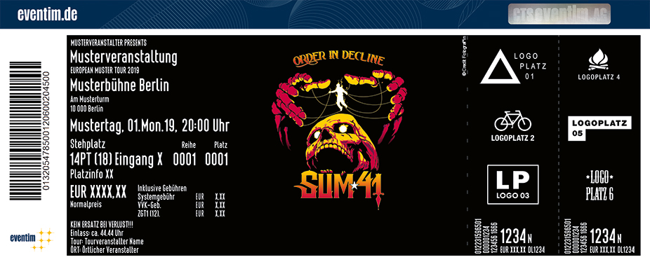Sum 41 & special guest: Zebrahead