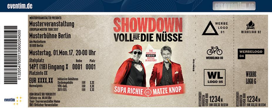 Karten für Supa Richie vs. Matze Knop in Dortmund