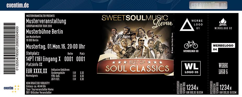 Sweet Soul Music Revue Karten für ihre Events 2017
